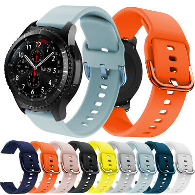 Pour Samsung Galaxy Watch Active 2 40mm/44mm Sport Silicone Band Strap Bracelet