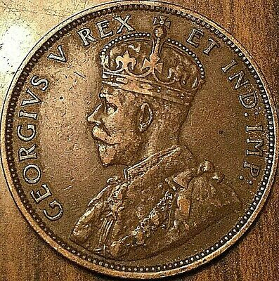 1911 Canada Large Cent Penny Large 1 Cent Coin