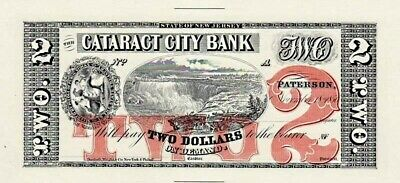 $10.00 Bank of St Johns Florida ABNC Proof Print