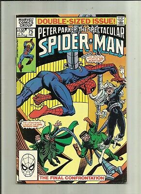 Peter Parker The Spectacular Spider-Man  .# 75 . Feb 83 . Marvel Comics .