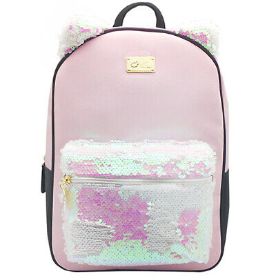 SALE Bag carry all NEW Betsey Johnson Hypno Bear Sequin Mini Backpack