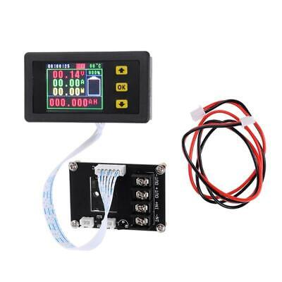 VA75010S Voltmeter Ammeter Coulomb Power Capacity Meter Battery Tester Monitor