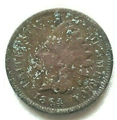 1864 INDIAN HEAD CENT personal collection b