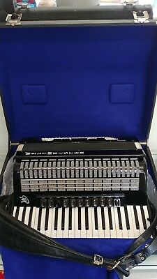 BRAND NEW WELTMEISTER SAPHIRE ACCORDION 120 bass, GERMAN TOP PROFESSIONAL