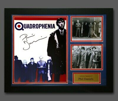 Phil Daniels Hand Signed Quadrophenia 12x16 Photograph In A Fame Proof AFTAL Coa