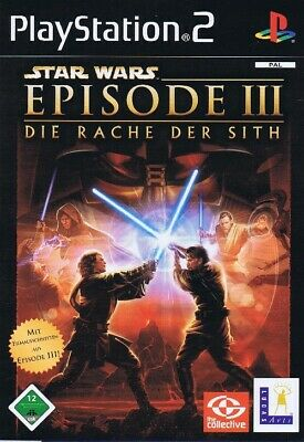 Star Wars Episode III 3 - Die Rache der Sith - Sony PlayStation2 PS2