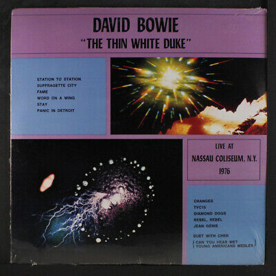 DAVID BOWIE: The Thin White Duke LP Sealed (corner bend) rare Rock & Pop