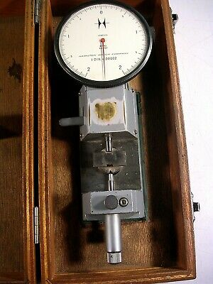 HAMILTON WATCH CO.  Horizontal Measuring Bench RESOLUTION 1-.00002