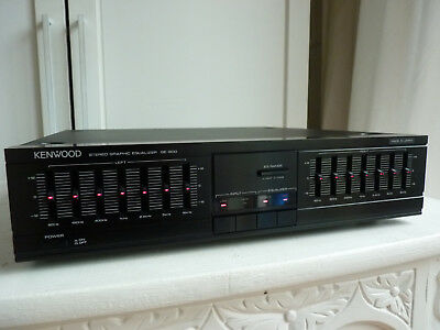 Kenwood Ge-600 Stereo Graphic Equalizer.