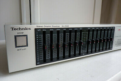 Technics Sh-Z200 Stereo Graphic Equalizer + Manual.