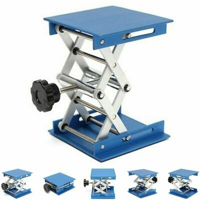 4 Inches Aluminum Oxide Lab Jack 30 Kgs Max Load Lifting Platforms Stand Rack