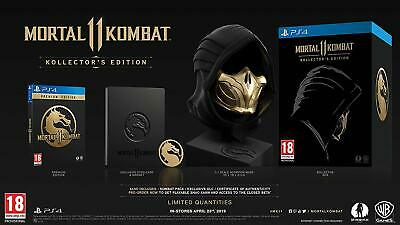 Mortal Kombat 11 Kollector's Edition PS4 new sealed