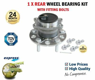 1x Rear WHEEL BEARING for PEUGEOT 4008 1.6HDi 2012->