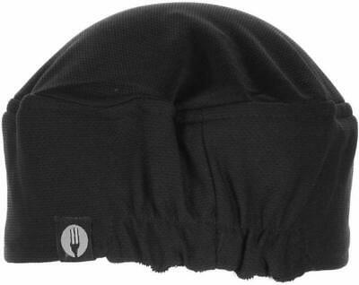 Chef Works Unisex Total Vent Chef Beanie Black One Size