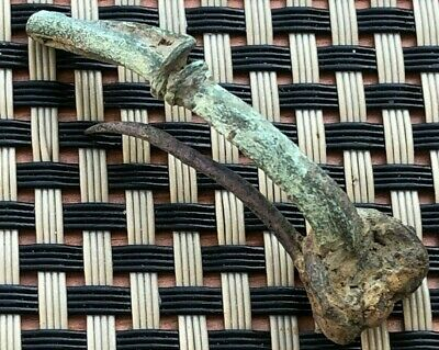 Ancient Roman Bronze Fibula Circa 200-400 Ad Very Rare
