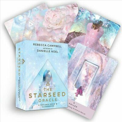 The Starseed Oracle A 53-Card Deck and Guidebook 9781788172882 | Brand New