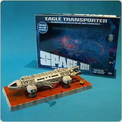 The Exiles Eagle Transporter Die Cast Metal Set Episode Collection - Space 1999