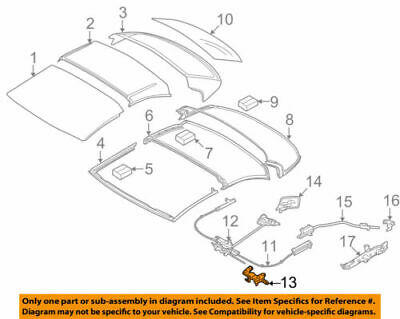 HINGE PRIMED LEFT#15 On Picture BMW 54-37-7-184-047COVER
