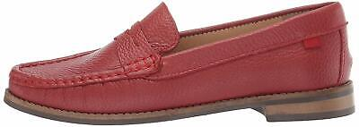 MARC JOSEPH NEW YORK Kids' Leather Boys/Girls Casual, Red,  Size Big Kid 4.5