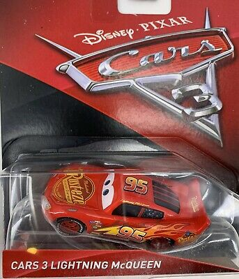 Disney Pixar Mattel Cars 3 Die-Cast Lightning McQueen Toy Vehicle