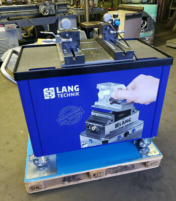 Lang Technik Mobile Dual Stamping Unit, High-End Stamping Jaws 41402-HE 45HRC