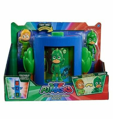 Pj Masks Gekko Transforming Playset With Greg & Gekko Action Figure
