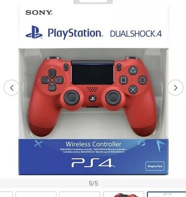 Sony PS4 DualShock 4 Wireless Controller - RED