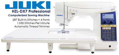 Juki HZL-DX7 Professional Computerized Quilting + Sewing Machine   Brand NEW