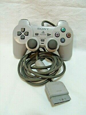 Official Sony Playstation 1 Analogue Wired Controller, Game Pad, Good Condition