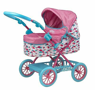 Baby Born Doll Stroller with Changing Mat