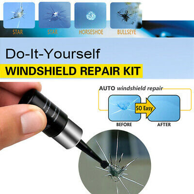 Automotive Glass Nano Repair Fluid- Auto Front Car Windshield Crack Repair NW