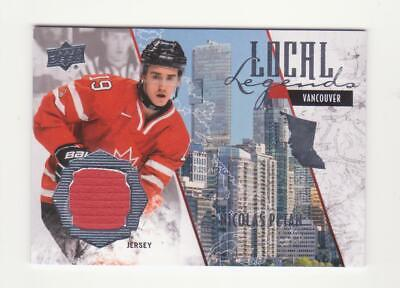 2015 Upper Deck Team Canada Juniors Nicolas Petan Local Legends Jersey # LL-NP