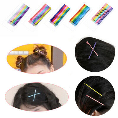 10pcs Candy Color Hair Clips Bobby Pins Accessories Wavy Hairpins Barrettes