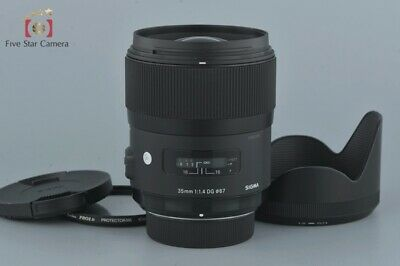 Excellent+++!! Sigma Art 35mm f/1.4 DG HSM for Nikon