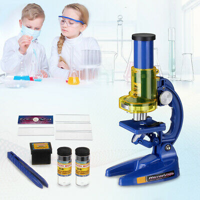 Educational Science Toy Student Junior Laboratory Microscope Lab Gift Christmas