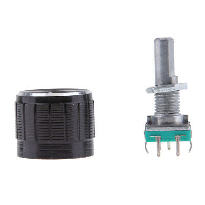 1Pack 360 Degree Rotary Encoder Module 20mm with Knob Cap for