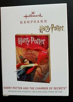 Hallmark 2019 HARRY POTTER AND THE CHAMBER OF SECRETS Keepsake New Ornament