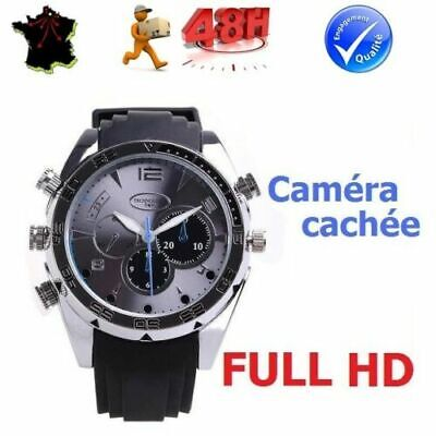 Montre Camera Cachee Espion Full Hd 1080P Camescope Spy Enregistrement Video