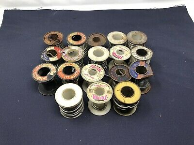 Vtg Large Lot of Rolls If Solder Wire Spools Various Brands / (#2)