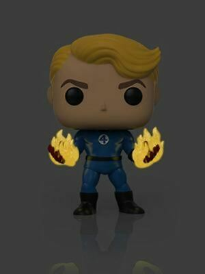 Funko POP! Human Torch (Suited) Specialty Series GITD Marvel