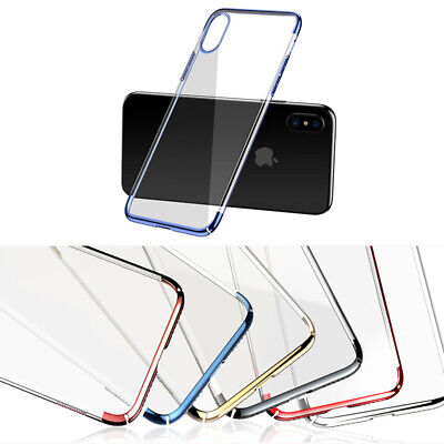 Baseus iPhoneX/XS XR XS Max Phone Clear Colorful Slim Anti-fall Shockproof Case