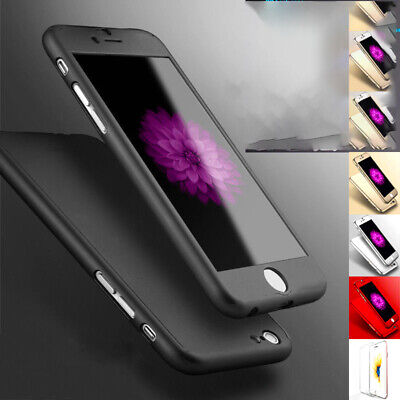 Hybrid 360 Liquid Silicone Soft Ultra Thin Full Case Cover For Apple iPhone 7