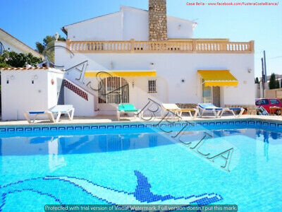 'Casa Bella' - Beautiful Holiday Villa (Costa Blanca) - Sleeps 9