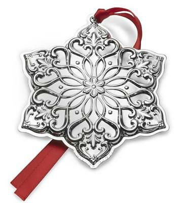 Towle 2017 Annual Old Master Snowflake Ornament Sterling Silver 28th Edition NEW