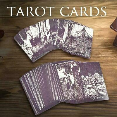 79 Light Visions Tarot Cards Deck Game Card Full Version English Divination