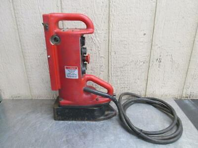 Milwaukee Cat. No. 4203 Magnetic Drill Press Swivel Base 120v