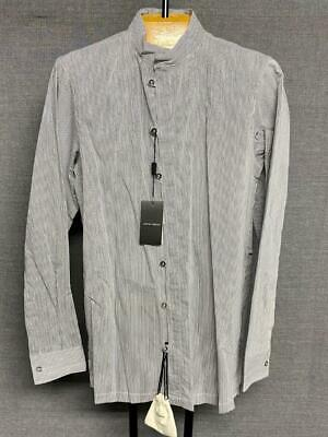 NWT $575 Giorgio Armani Black Label Button Down Shirt Size 39 IT / 15.5