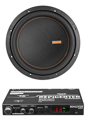 "Memphis Audio MOJO 612D2 12"" 3000w Car Subwoofer+AudioControl Bass Maximizer"