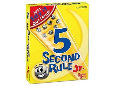 5 Second Rule Junior Board Game