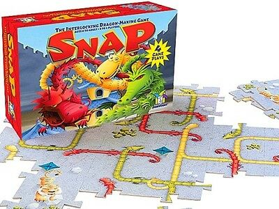 Gamewright Snap - The Interlocking Dragon Making Game